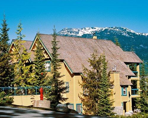 Scenic exterior view of Snowbird Resort.