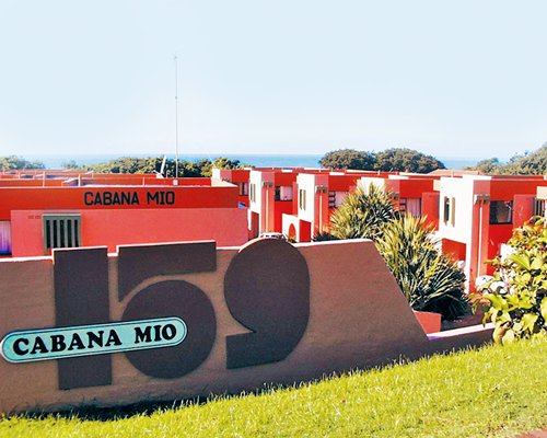 Signboard of Cabana Mio resort.