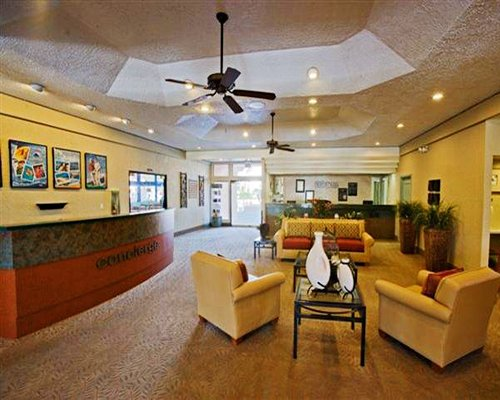 A large reception area at Welk Resorts Palm Springs.