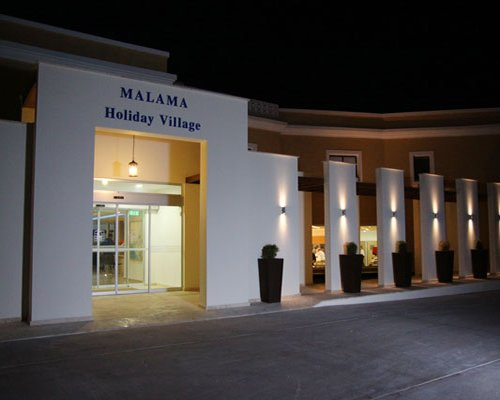 Entrance to Malama Holiday Village.