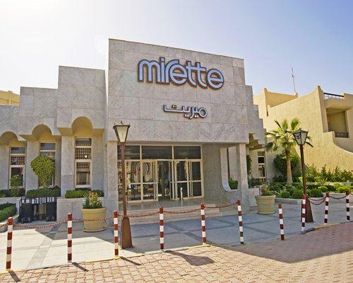 Exterior view and entrance of Mirette Touristic Village.
