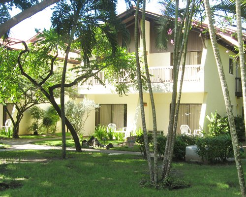 Scenic multiple units of Tropicana Caribe resort with private balcony.