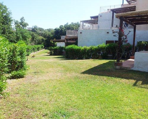 Scenic exterior view of the Le Terrazze di Portorotondo resort.