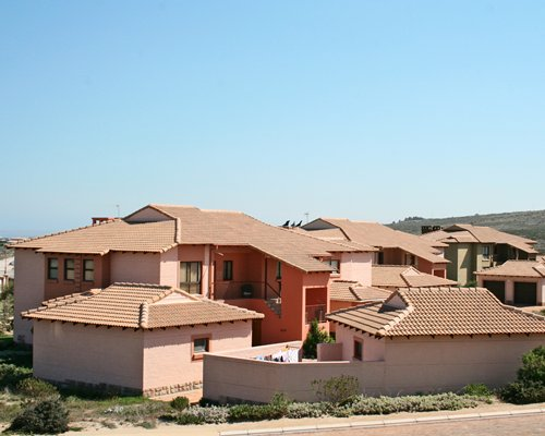 An exterior view of the Langebaan Country Club.