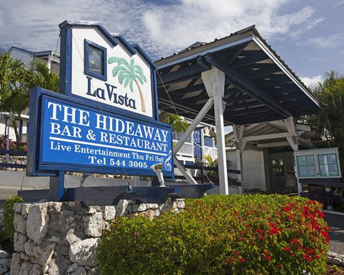 Signboard of La Vista resort.