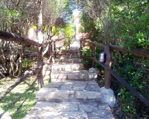 A scenic pathway at Residence Cormorani Bis.