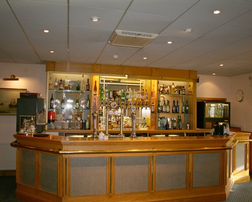 Bar at Passage House Club Hotel.