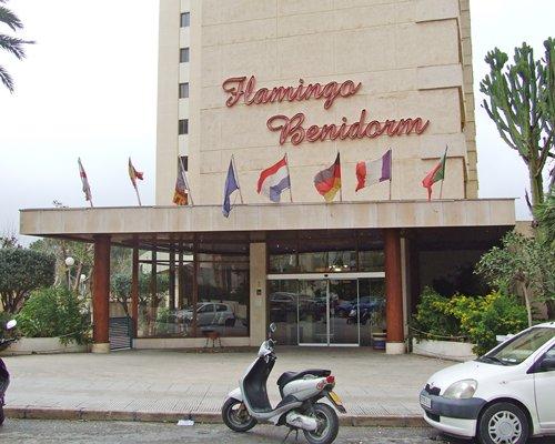 An exterior view of Sandos Benidorm Suites.