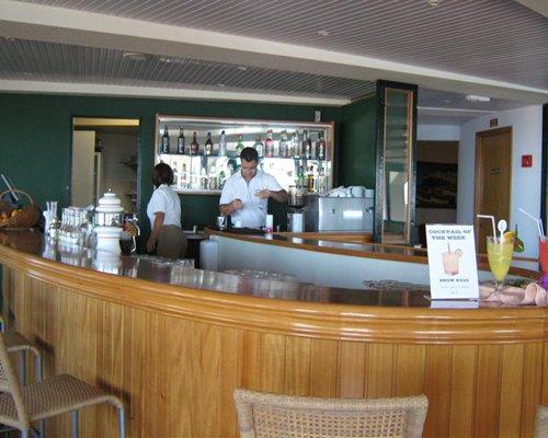 A resort bar.