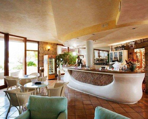 A fine indoor dining restaurant.