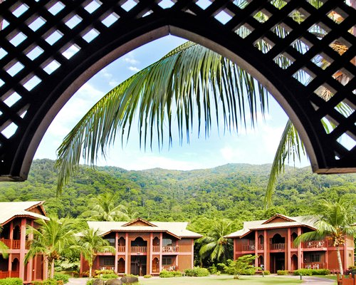 An exterior view of the Berjaya Tioman Resort.