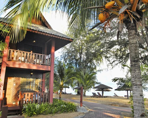 Scenic exterior view of Berjaya Tioman Resort units.