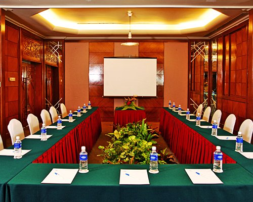 Conference room at Berjaya Tioman Resort.