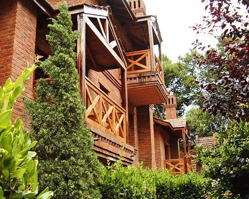 Exterior view of multiple balconies at Vacances Dorado.