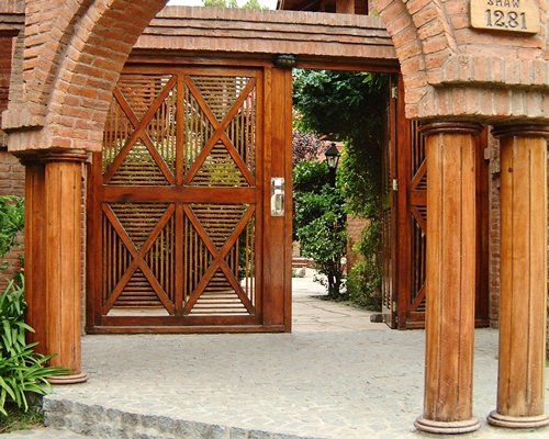 Entry gate of Vacances Dorado resort.