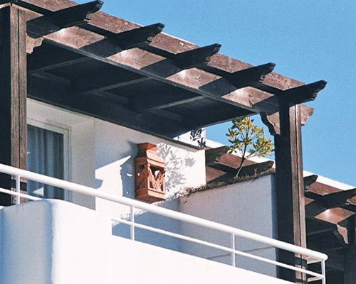 An exterior view of the balcony at Miraflores Beach and Country Club.