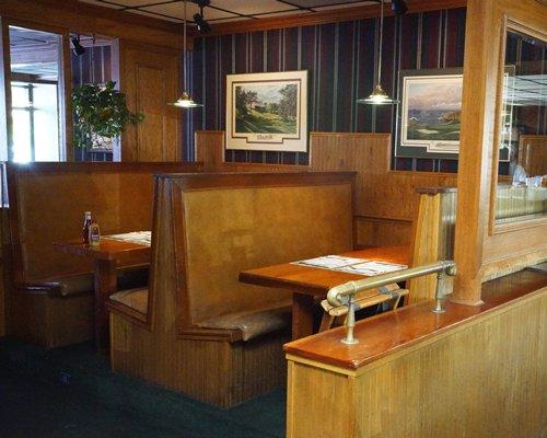 A restaurant at Reef Ocean Resort.
