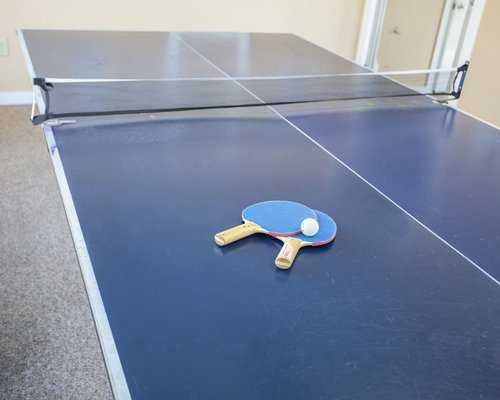 Ping pong table at Pier 7 Condominiums.