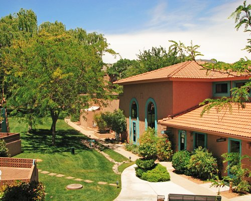 Scenic exterior view of the Villas of Sedona.