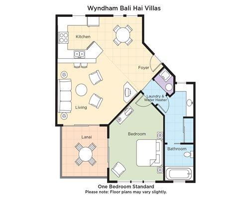 Club Wyndham Bali Hai Villas 3031 Details Rci