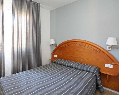 A furnished bedroom.