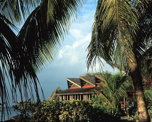 A scenic view of the Creole Beach Hotel.