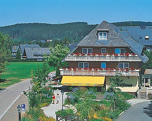 Scenic exterior view of Adler Bellevue Ferienclub.