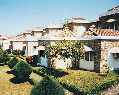 Scenic exterior view of multiple units at Ras Resorts Silvassa.