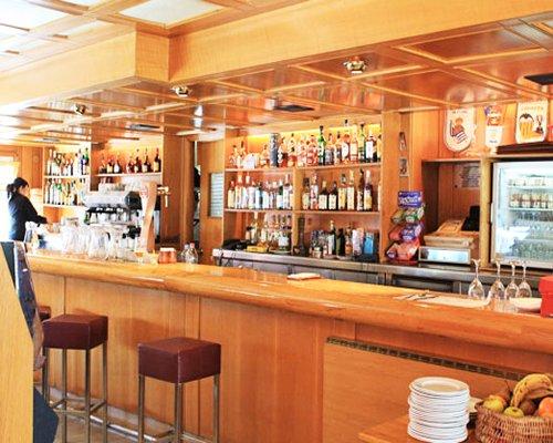 A bar at the Sol Neu.