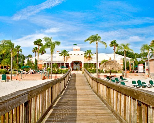 A pier alongside the Summer Bay Orlando By Exploria Resorts.