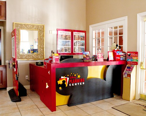 Recreation room for kids.