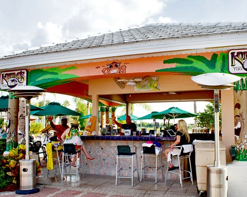Outdoor bar at Summer Bay Orlando By Exploria Resorts.