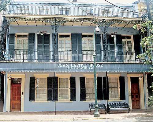 A street view of Jean Lafitte House.