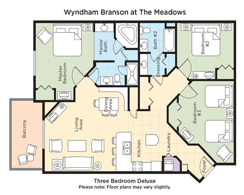Wyndham branson at the meadows 3294 details rci for Cabins at branson meadows