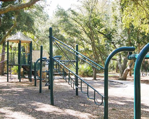 Kids playscape at Royal Dunes.