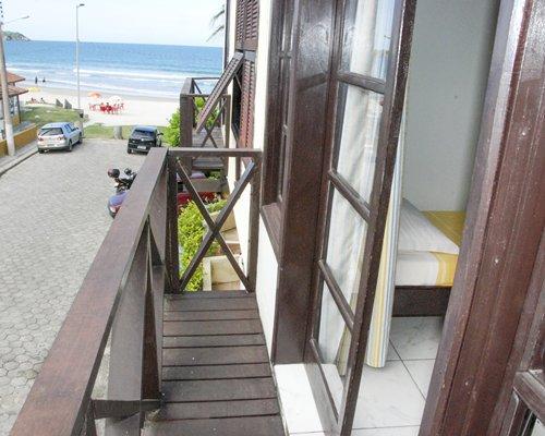 A balcony view outside of Recanto do Sol.