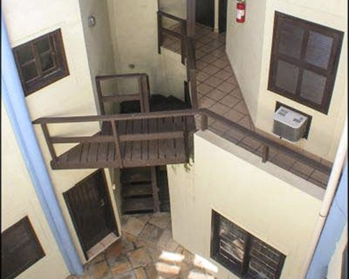 Balcony view of the Recanto do Sol resort.