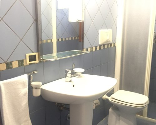 A bathroom with a sink.