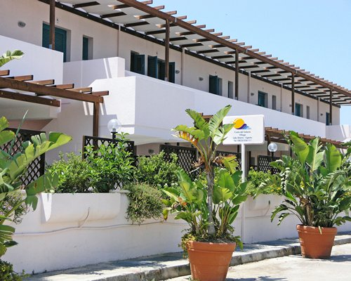 An exterior view of Costa del Salento Village resort.