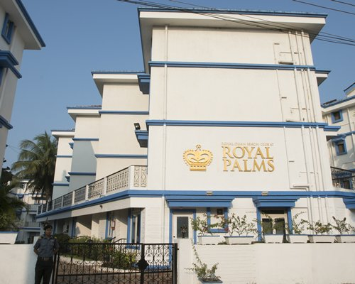 An exterior view of Karma Royal Palms resort.