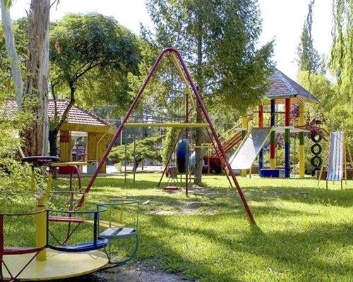 A scenic children's play area.