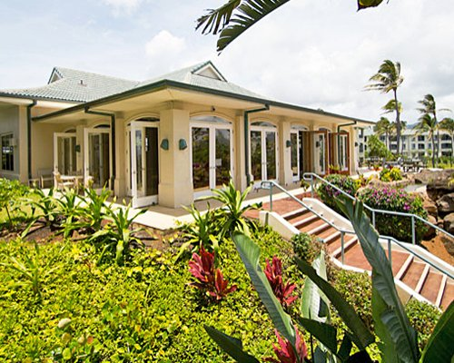 Exterior view of a unit at The Point at Poipu.