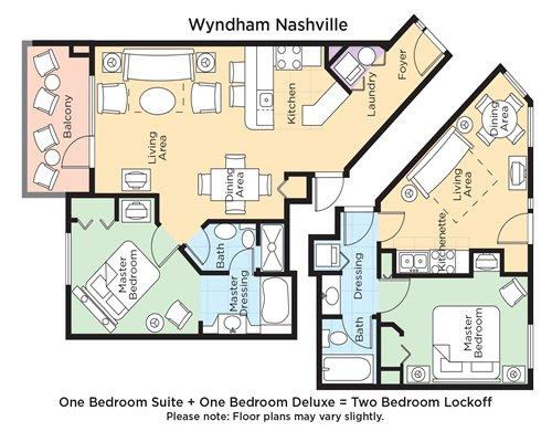 Club Wyndham Nashville 3688 Details Rci