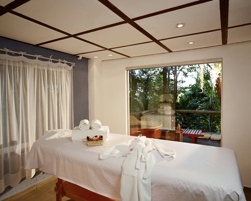 An indoor spa area at the Casa Caiada @ Vip Club Pratagy resort.