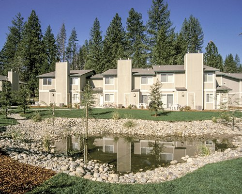 Scenic exterior view of Worldmark Yosemite Northshore Estates resort.