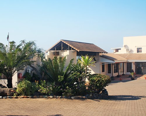 An exterior view of Banana Beach Holiday Resort unit.