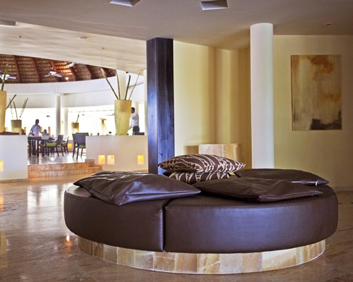 Lounge area of MVC at Paradisus Punta Cana resort.