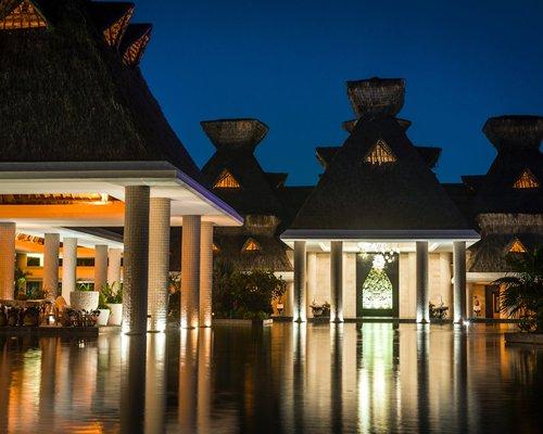 Entrance to Mayan Sea Garden at Vidanta Acapulco.
