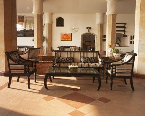 Indoor lounge area at Karma Royal Haathi Mahal.