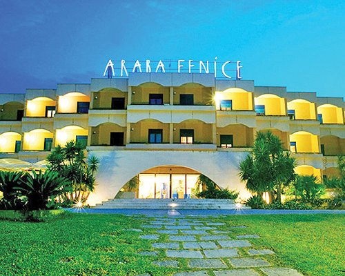 Scenic entrance of Araba Fenice Village.